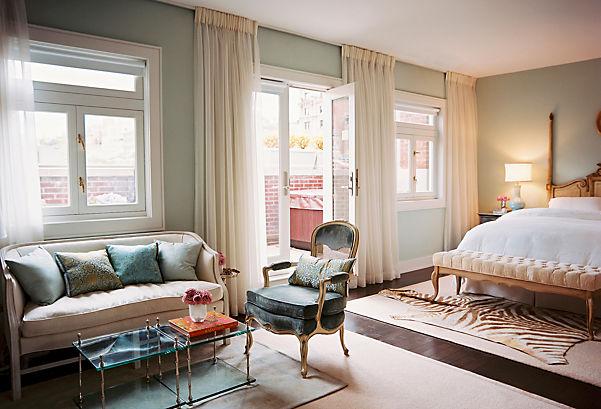 hanging curtains higher than window | curtain menzilperde