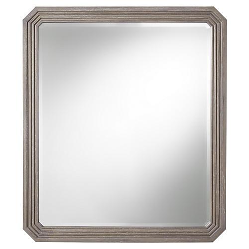 Playlist Wall Mirror, Smokey Gray
