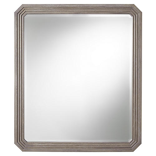 Playlist Wall Mirror, Smoke Gray