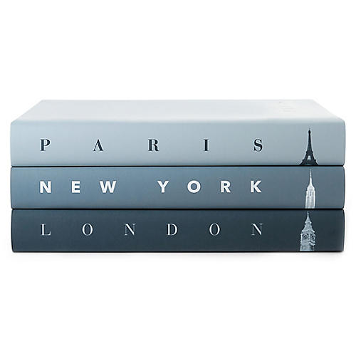 S/3 Taschen Cities Icons Book Collection
