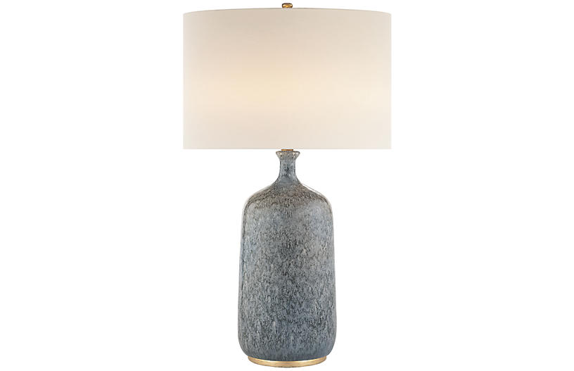 Culloden Table Lamp Blue Lagoon Visual Comfort Amp Co