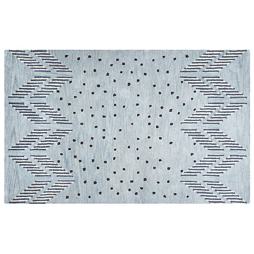 Lena Kids' Rug, Blue