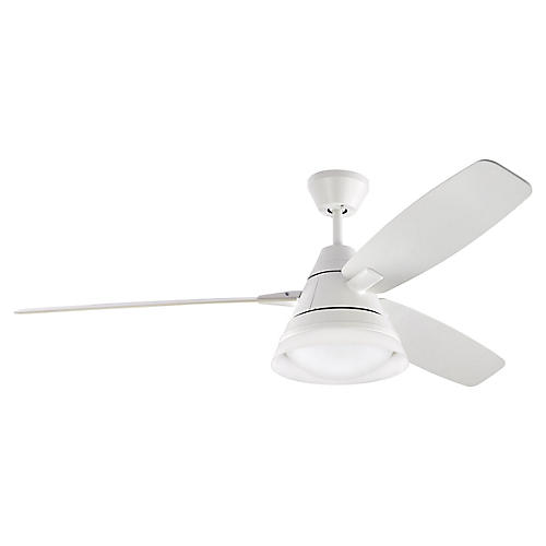 Nord Ceiling Fan, Matte White