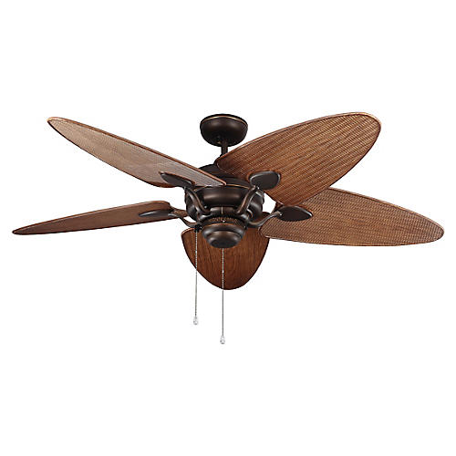 Peninsula Ceiling Fan, Roman Bronze