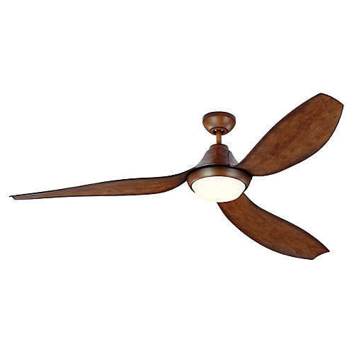 Avvo Ceiling Fan, Koa