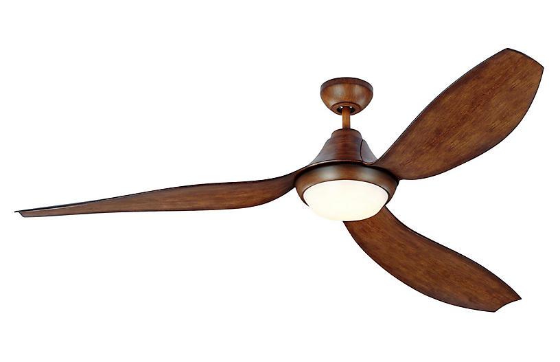 Avvo Ceiling Fan, Koa
