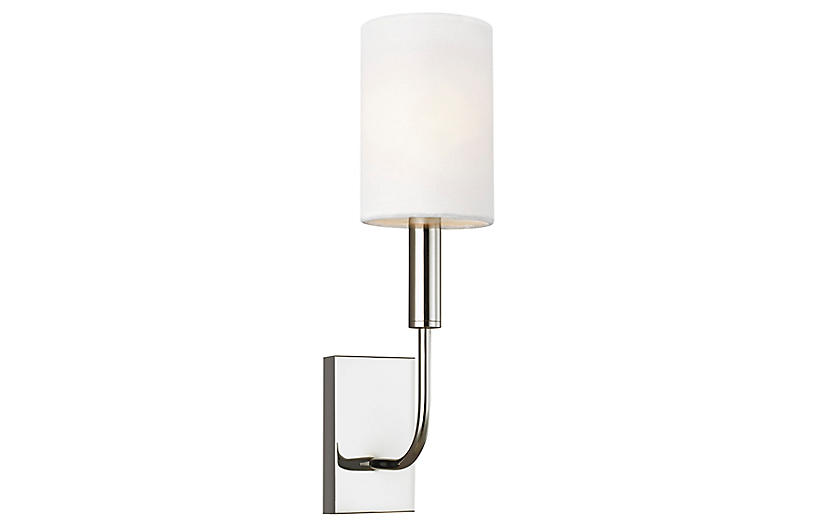 Brianna Sconce, Polished Nickel