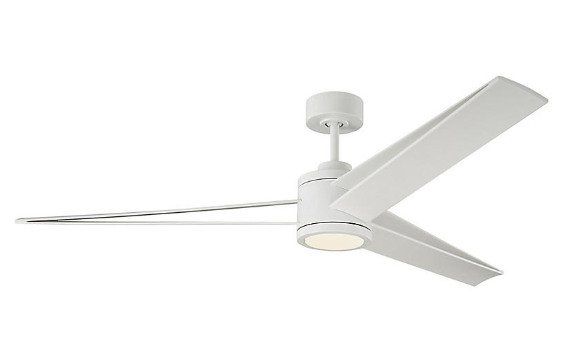 Armstrong Ceiling Fan, Matte White