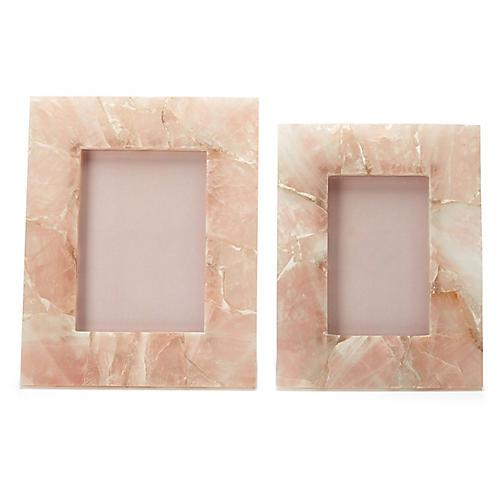 Asst. of 2 Accra Frames, Pink