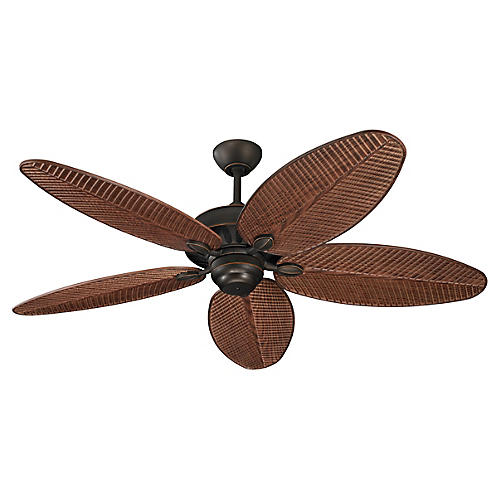 Cruise Ceiling Fan, Roman Bronze