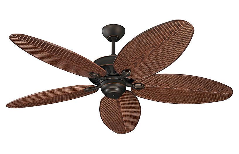Cruise Ceiling Fan, Roman Bronze