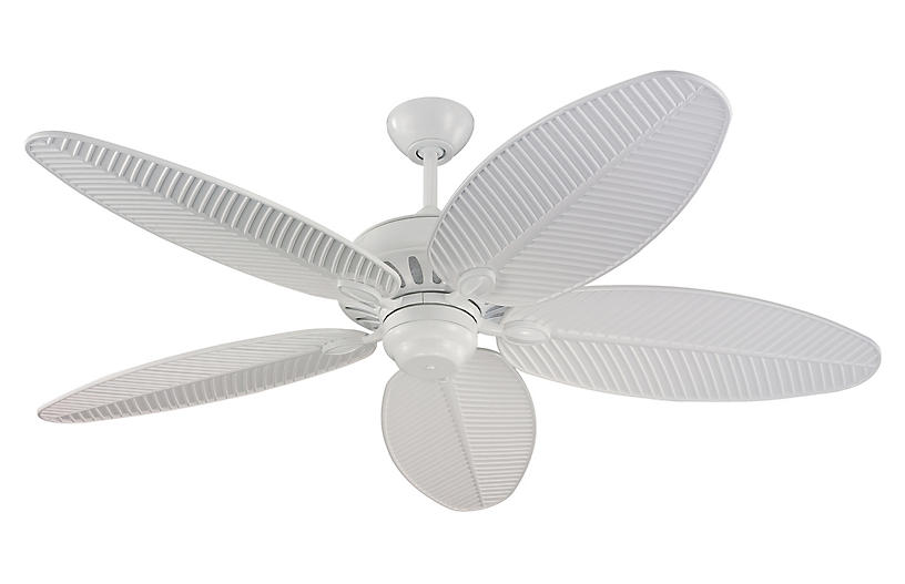 Cruise Ceiling Fan, White