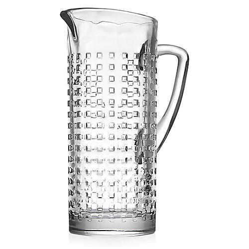 West Street Pitcher, Clear