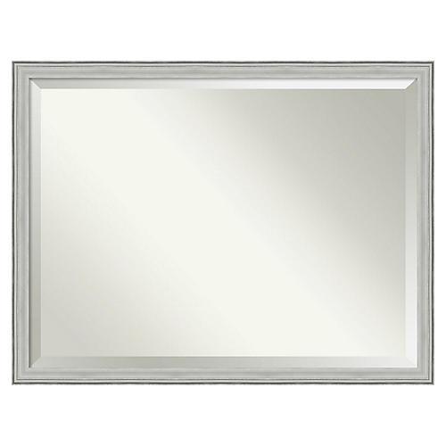 Bennett III Wall Mirror, Silver