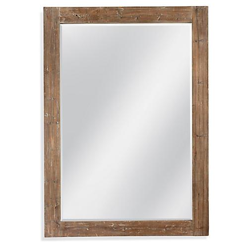 Reeves Leaner Floor Mirror, Natural