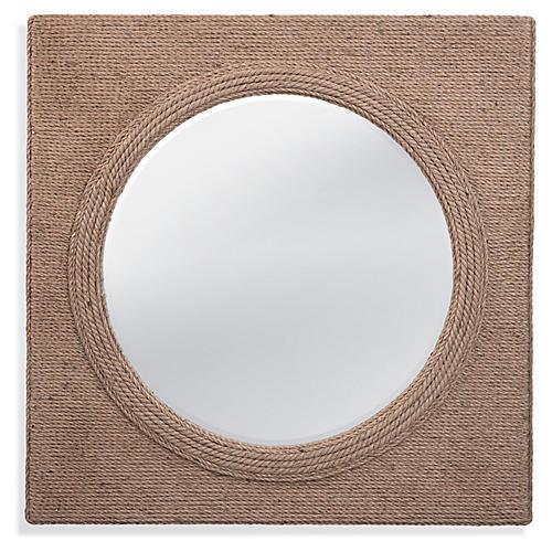Avon Wall Mirror, Natural