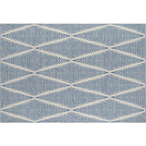 Beacon Outdoor Rug, Denim