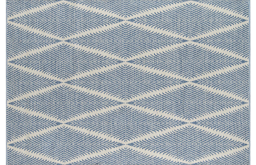 Beacon Outdoor Rug Denim Outdoor Rugs Rugs One Kings Lane