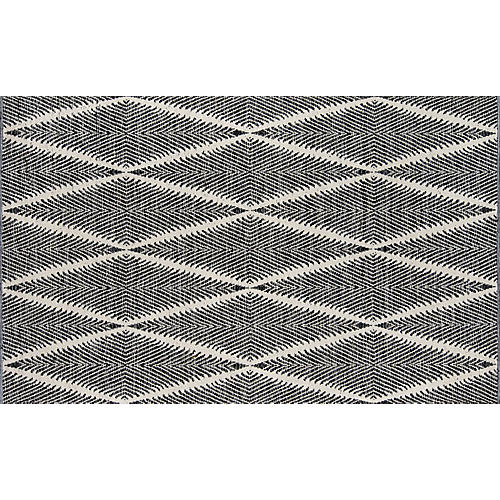 Beacon Outdoor Rug, Black
