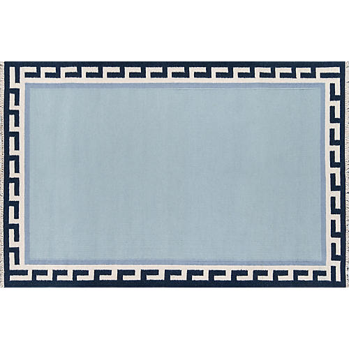 Thompson Hinkley Rug, Blue