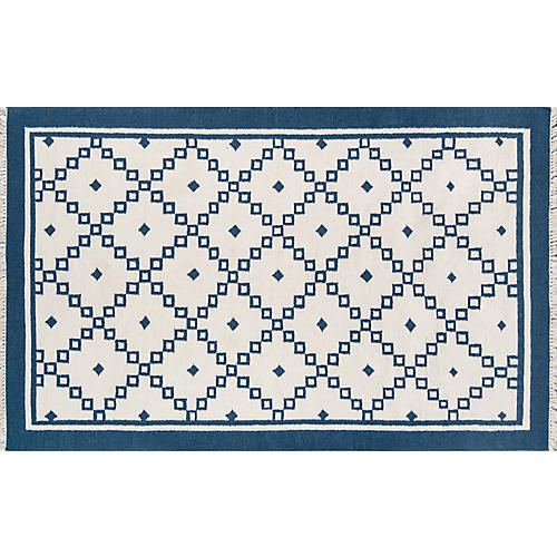 Thompson Langley Rug, Navy