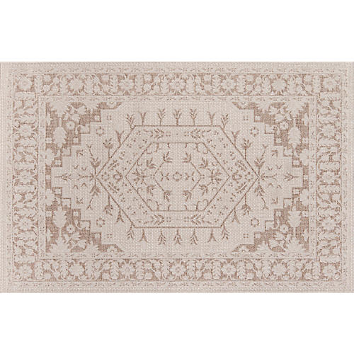 Brunswick Outdoor Rug, Beige