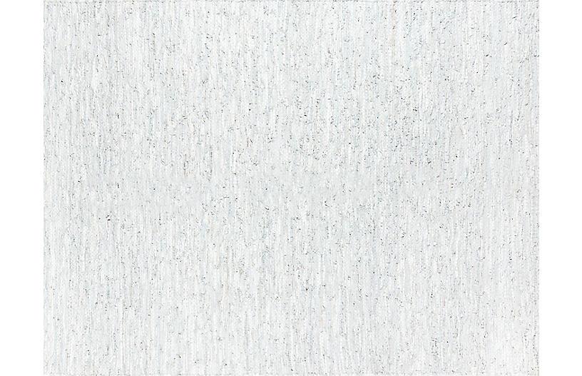 Tézah Taniso Handwoven Rug, Gray