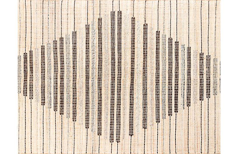 Argan Dimbokro Handwoven Rug, Natural