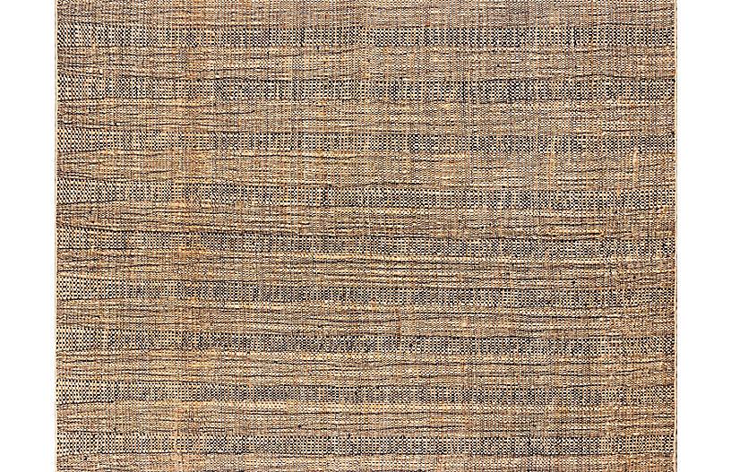 Moghar Kaffrine Handwoven Rug, Natural