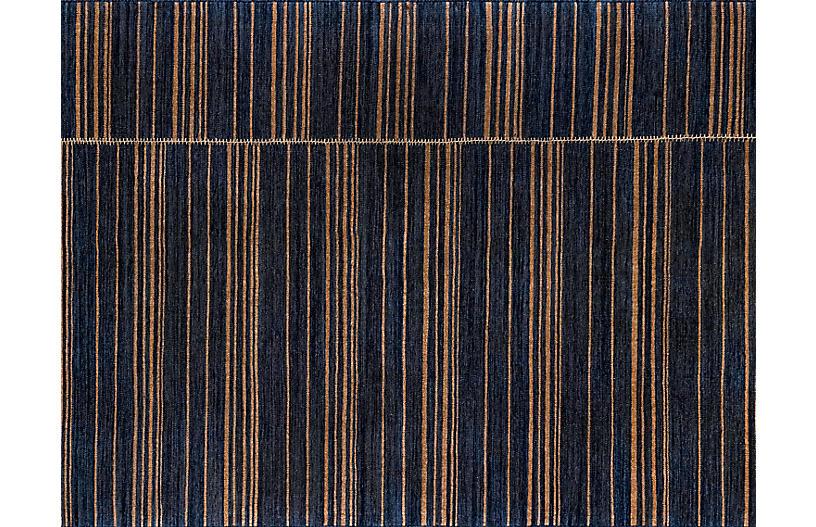 Duar Tofola Handwoven Rug, Indigo