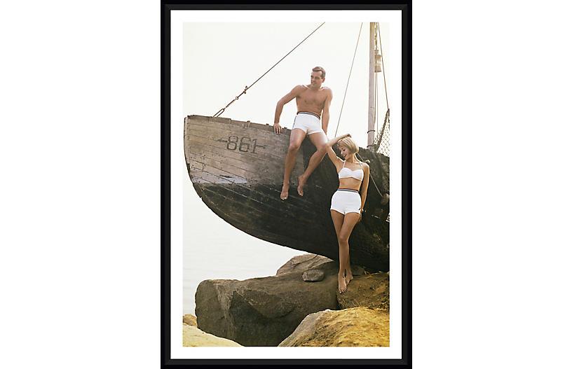 Tom Kelley, Sitting on Boat