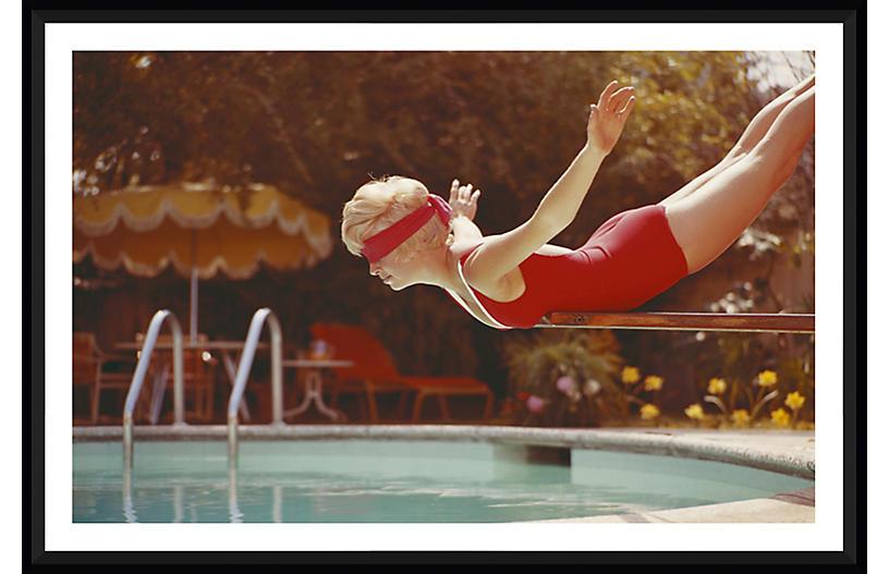 Tom Kelley, Balancing on Diving Board
