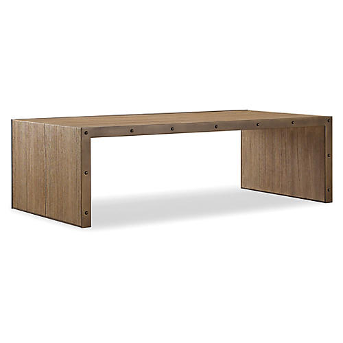 Lennox Coffee Table, Chai Brown