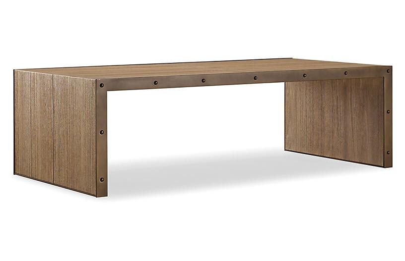 Lennox Coffee Table, Chai Brown