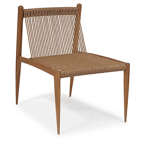Montauk Accent Chair, Praline