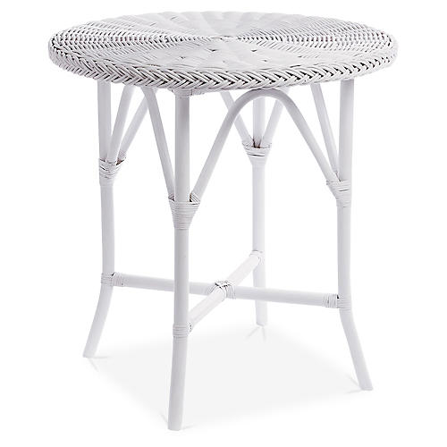 Normany Bistro Table, White