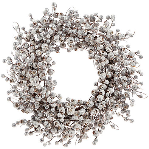Frosty Wreath, Silver