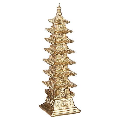 Shining Pagoda Ornament, Gold