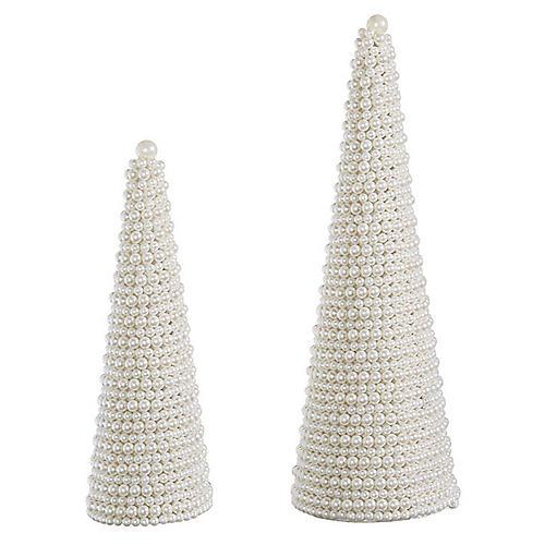 Posh Decorative Trees, Pearl