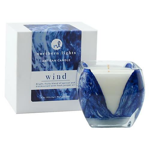 Cascade Candle, Wind
