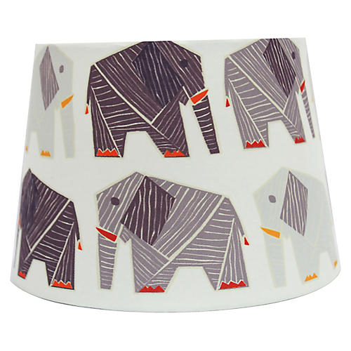 Maya Lampshade, White/Multi