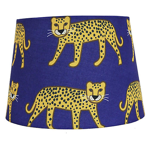 Sasha Lampshade, Blue/Multi
