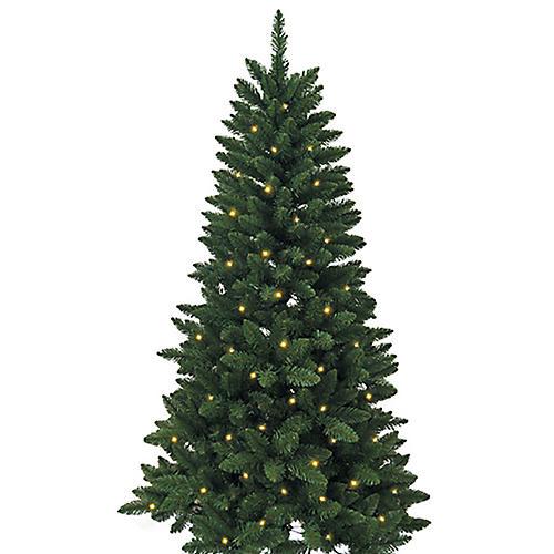 Mini Pre-Lit Pine Tree, Faux