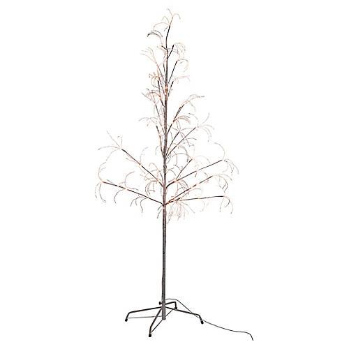 Fairy Pre-Lit Faux Tree, White