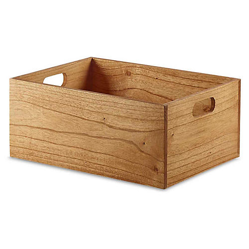 "15"" Yala Medium Storage Box, Natural"