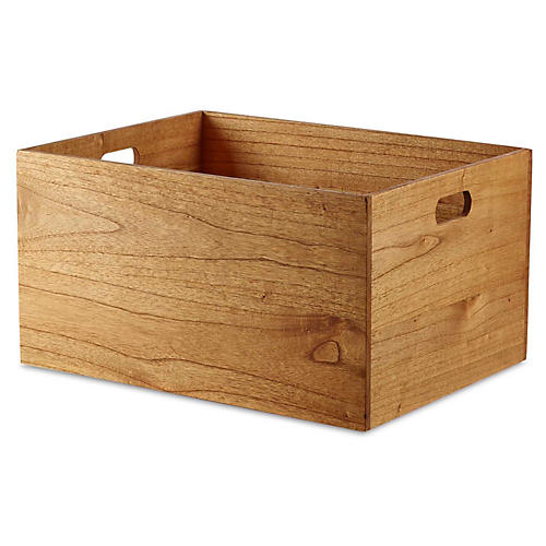"""20"""" Yala Extra-Large Storage Box, Natural"""