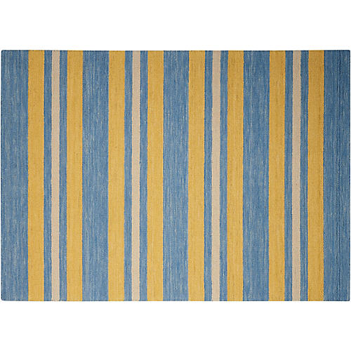 Oxford Rug, Portside Blue