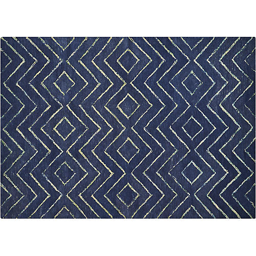 Intermix Diamond Rug, Storm