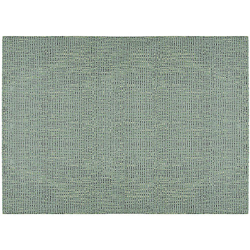 Intermix Solid Rug, Sea
