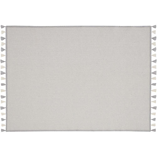Sutton Kids' Rug, Light Gray